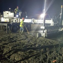 An image of a working construction crew