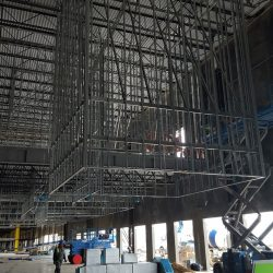 An image of a building being constructed