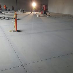 An image of a completed building floor